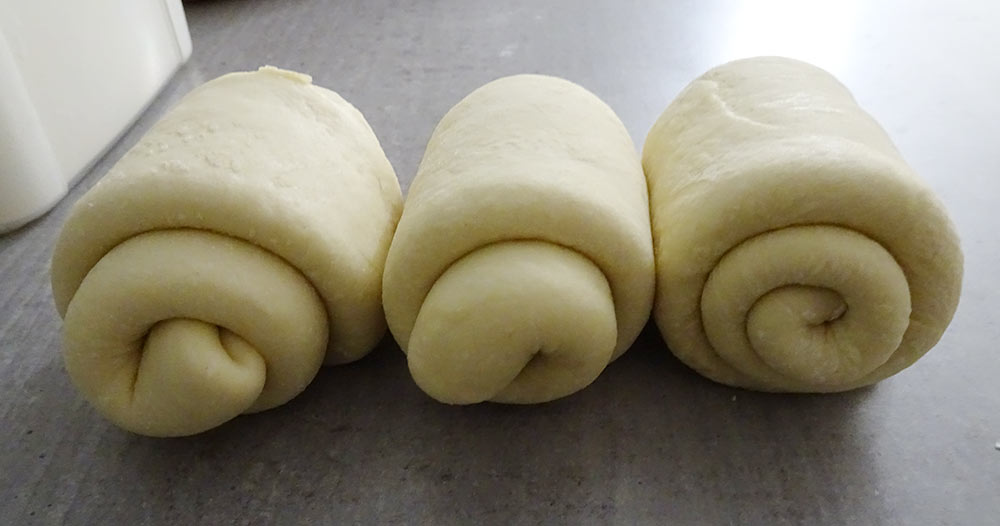 Roules Brioches Tangzhong