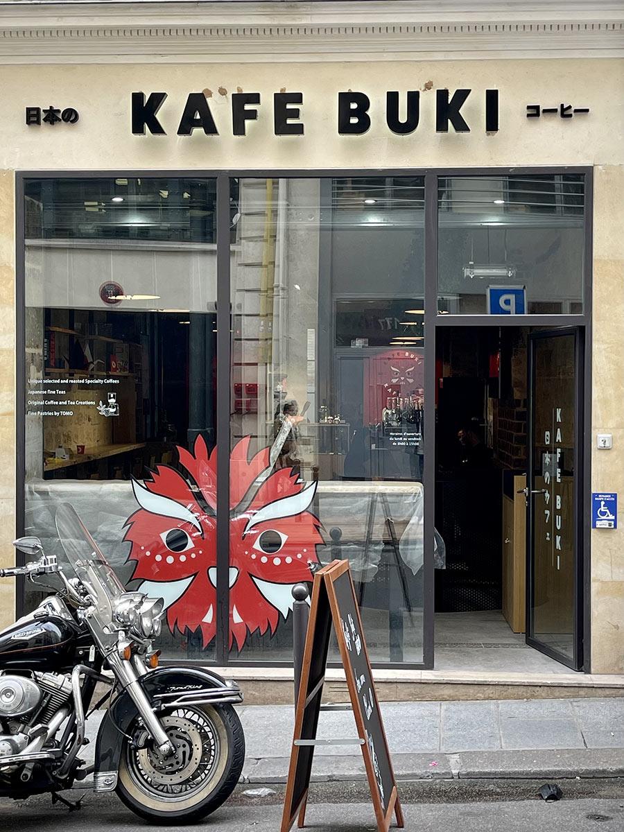 kafe buki cafe japonais